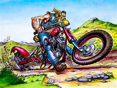 Mann Biker Motorcycle David Kevin Coyote Piston