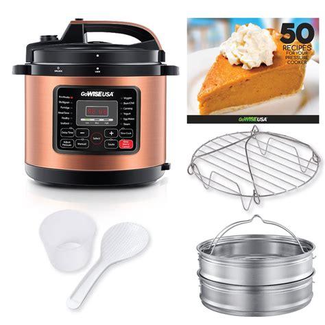 pressure cooker copper accessories cup qt rack steam