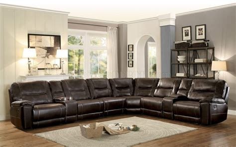Motion Sofas And Sectionals by Columbus Motion Sectional Sofa 8490 8lrrr By Homelegance