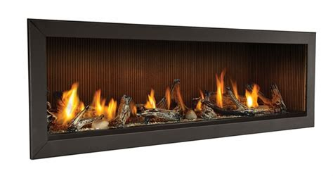 "Napoleon 62"" Linear Direct Vent Natural Gas Fireplace"