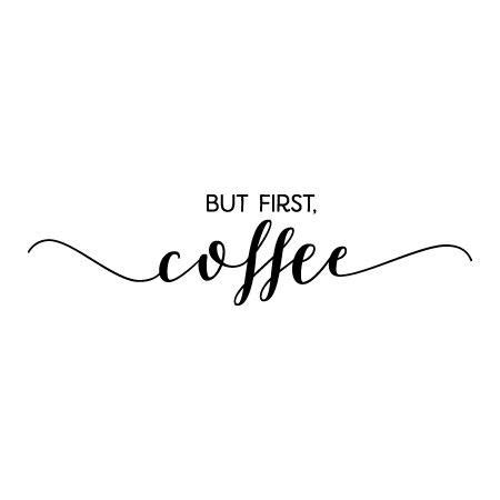 but coffee calligraphy wall quotes decal wallquotes com