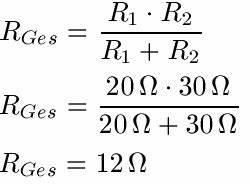 Gemischte Schaltung Berechnen : reihenschaltung und parallelschaltung beispiele formeln etc ~ Themetempest.com Abrechnung
