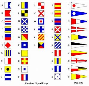 signal flags on tumblr With sea flags letters