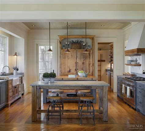 Traditional Character Defines This Kitchen In A New House
