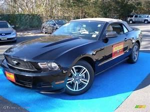 2010 Black Ford Mustang V6 Premium Convertible #57217120 | GTCarLot.com - Car Color Galleries