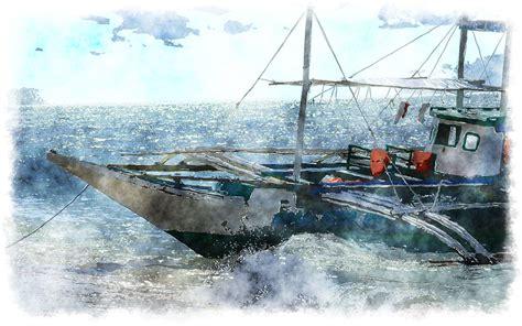 Watercolor Boat by Watercolor Boat