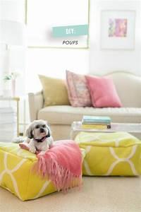 Pouf Pour Salon : id es de pouf salon dans toutes ses couleurs ~ Premium-room.com Idées de Décoration