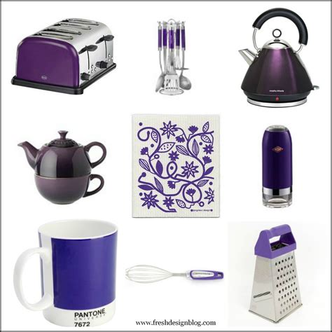 accessory design purple plum kitchen accessories fresh design home