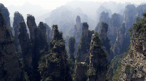 geological photography zhangjiajie national forest park