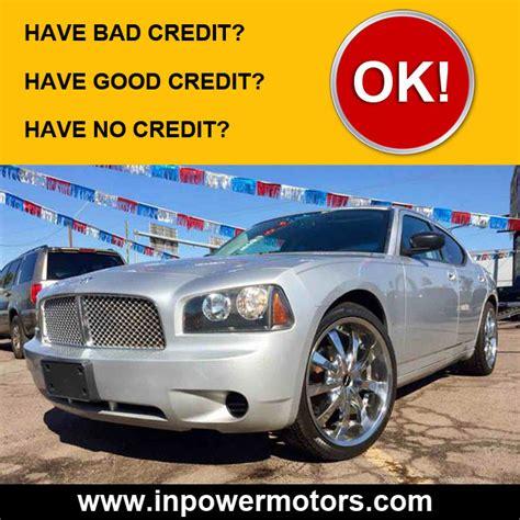 bad credit car dealership  phoenix  power motors llc