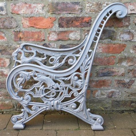 the 22 best images about cast iron bench ends on