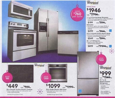 Kitchen Appliances: inspiring appliance sale lowes