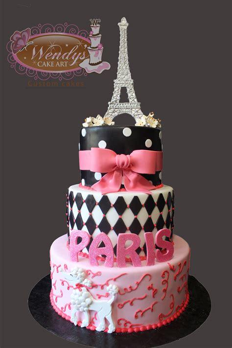 themed cakes paris theme cake from wendyscakeart com birthdayparty ideas pinterest paris theme paris