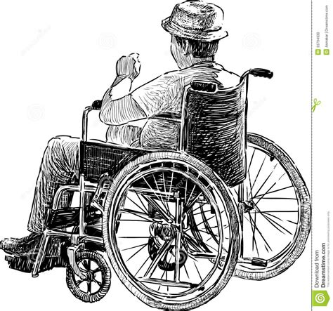 chaise handicapé in wheelchair stock photo person in wheelchair