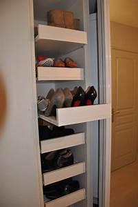 Banc Pour Dressing : placard chaussure entr e pinterest placard entr e ~ Teatrodelosmanantiales.com Idées de Décoration