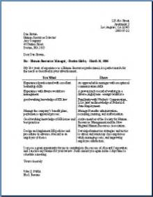 Cover letter virtualjobcoach page 2 for Two column cover letter