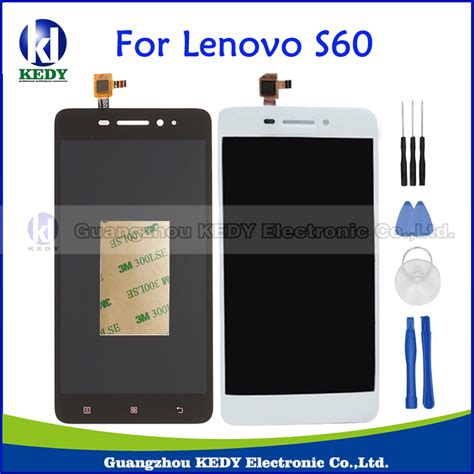 original tested for lenovo s60 s60 a lcd display screen