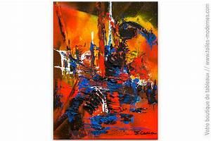 Tableau Moderne Coloré : tableau color abstrait turbulence ~ Teatrodelosmanantiales.com Idées de Décoration