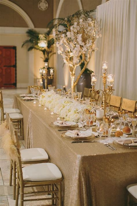 and gold reception decoration 196 best images about vintage glam shabby chic wedding