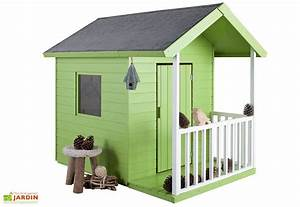 Maison Pour Enfant En Bois : maison pour enfant bois kangourou jardipolys ~ Premium-room.com Idées de Décoration