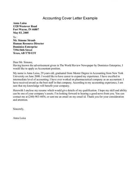 cover letter for accounting internship resume badak
