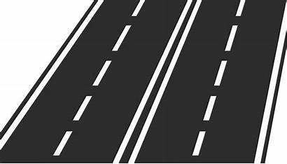 Svg Road Icon Lane Clipart Highway Wikimedia