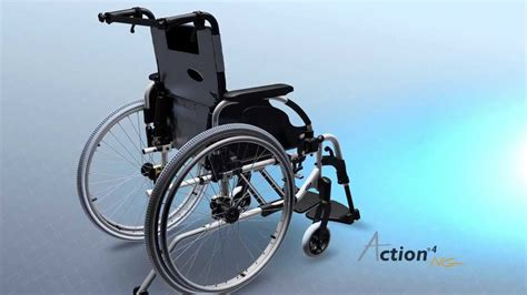 fauteuil roulant invacare action 4 ng version 3d youtube