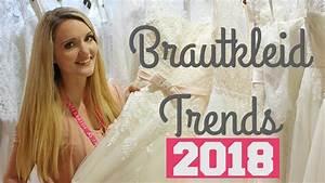 Brautkleider 2018 TRENDS