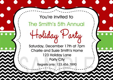 free christmas party invitation templates theruntime com