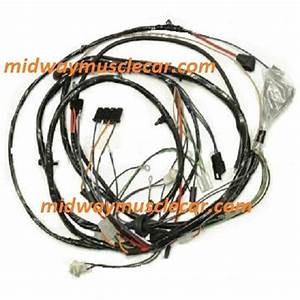 Headlight Headlamp Front Light Wiring Harness 1972 Chevy
