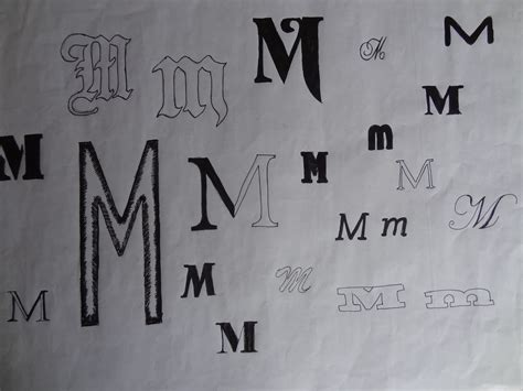 letter t in different fonts 8 best images of letter m in different fonts different