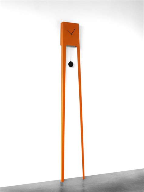 Design Moderne Standuhr by Orange Pendulum Clock By Lime Lace