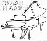 Piano Coloring Grand Pages Printable Drawing Keys Cartoon Games Play Guitar Tuba Coloringgames Getdrawings Categories Popular Coloringonly sketch template