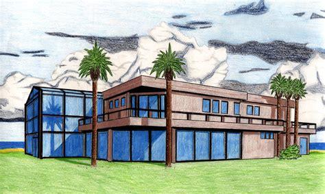 Haus Perspektivisch Zeichnen by House Perspective Drawing By Cemueller86 On Deviantart