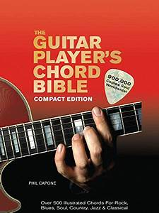 The Guitar Player U0026 39 S Chord Bible  Over 500 Illustrated