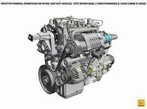 Quelle Mercedes Avec Moteur Renault : renault pr sente un prototype de moteur diesel deux temps ~ Medecine-chirurgie-esthetiques.com Avis de Voitures
