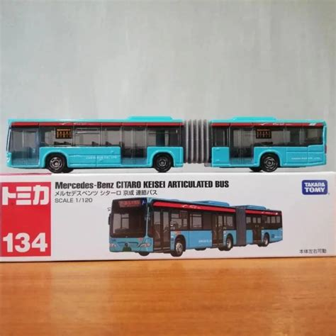 Free shipping for many products! Tomica 134 - Mercedes-Benz Citaro Keisei Articulated Bus, Toys & Games, Others on Carousell