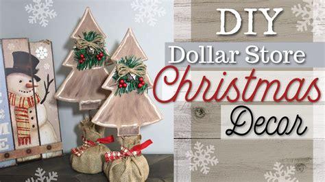 diy dollar store christmas decor farmhouse christmas