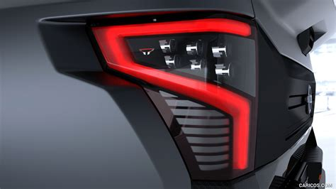 nissan titan warrior concept tail light hd