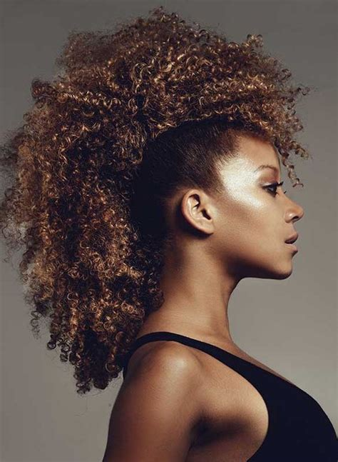 20 Afro Hairstyles For African American Woman?s   Feed