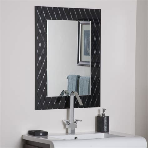 bathroom wall mirror decor strands modern bathroom mirror beyond