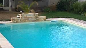 cascade piscine With piscine avec cascade d eau
