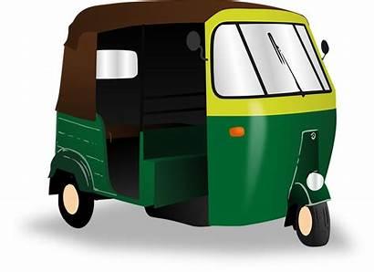 Rickshaw Indian Clipart Autorickshaw India Transport Taxi