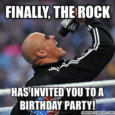The Rock Memes - finally the rock
