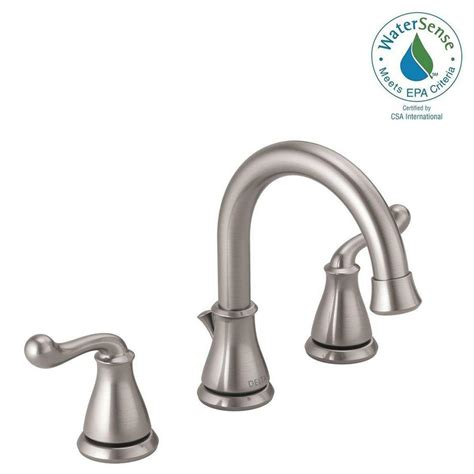 Faucet Depot by Delta Southlake 8 In Widespread 2 Handle Bathroom Faucet