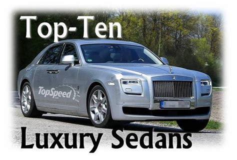 Top-ten Best Luxury Sedans