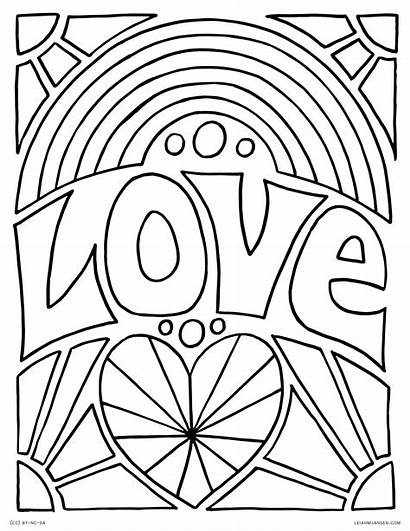 Coloring Pages Rainbow Adults Pride Printable Rocks
