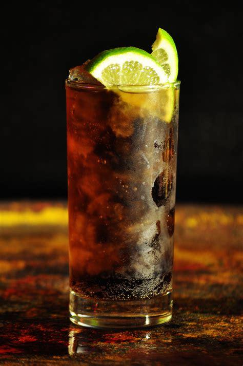 rum and coke recipe yummy skinny cocktails glamasia glamasia