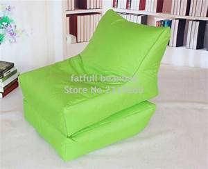 cover onlyno filler folding bean bag chair outdoor With bean bag furniture set
