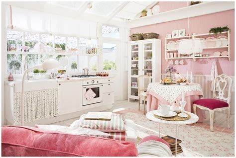 Pink Shabby Chic Kitchen Pictures, Photos, And Images For